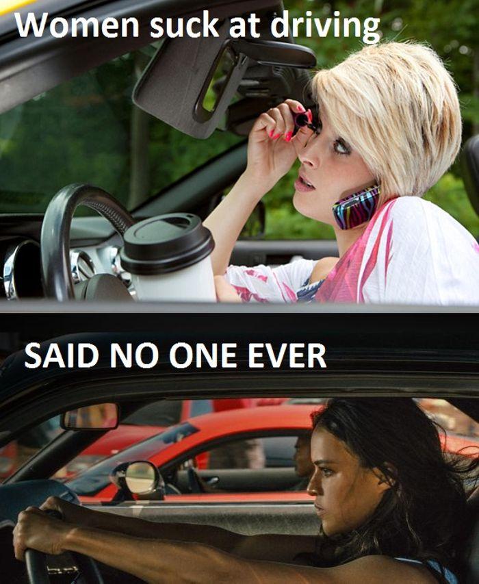 Women Drivers Anti Stereotype Meme
