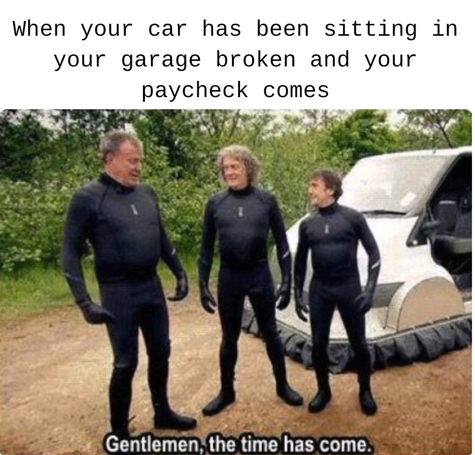 Another Top Gear Format Yay