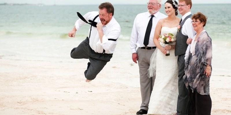Foto engraçada de casamento | Notícias Bol | Jonathan Cossy
