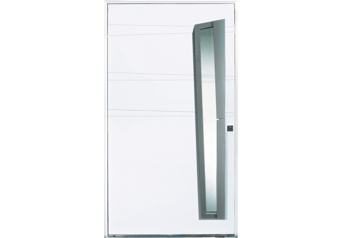 porte grande largeur vitree