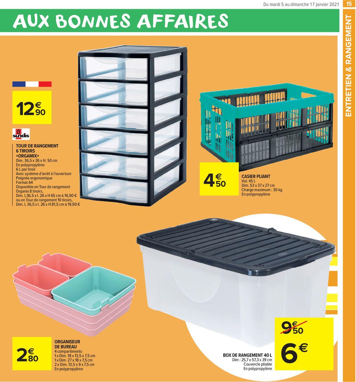 Carrefour Bonnes Affaires 2021 Catalogue Actuel 05 01 17 01 2021 15 Catalogue 24 Com