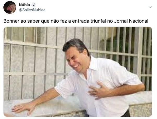 Falha no Jornal Nacional virou piada nas redes sociais