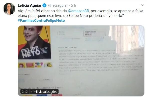 Web se une na campanha: #FamiliasContraFelipeNeto