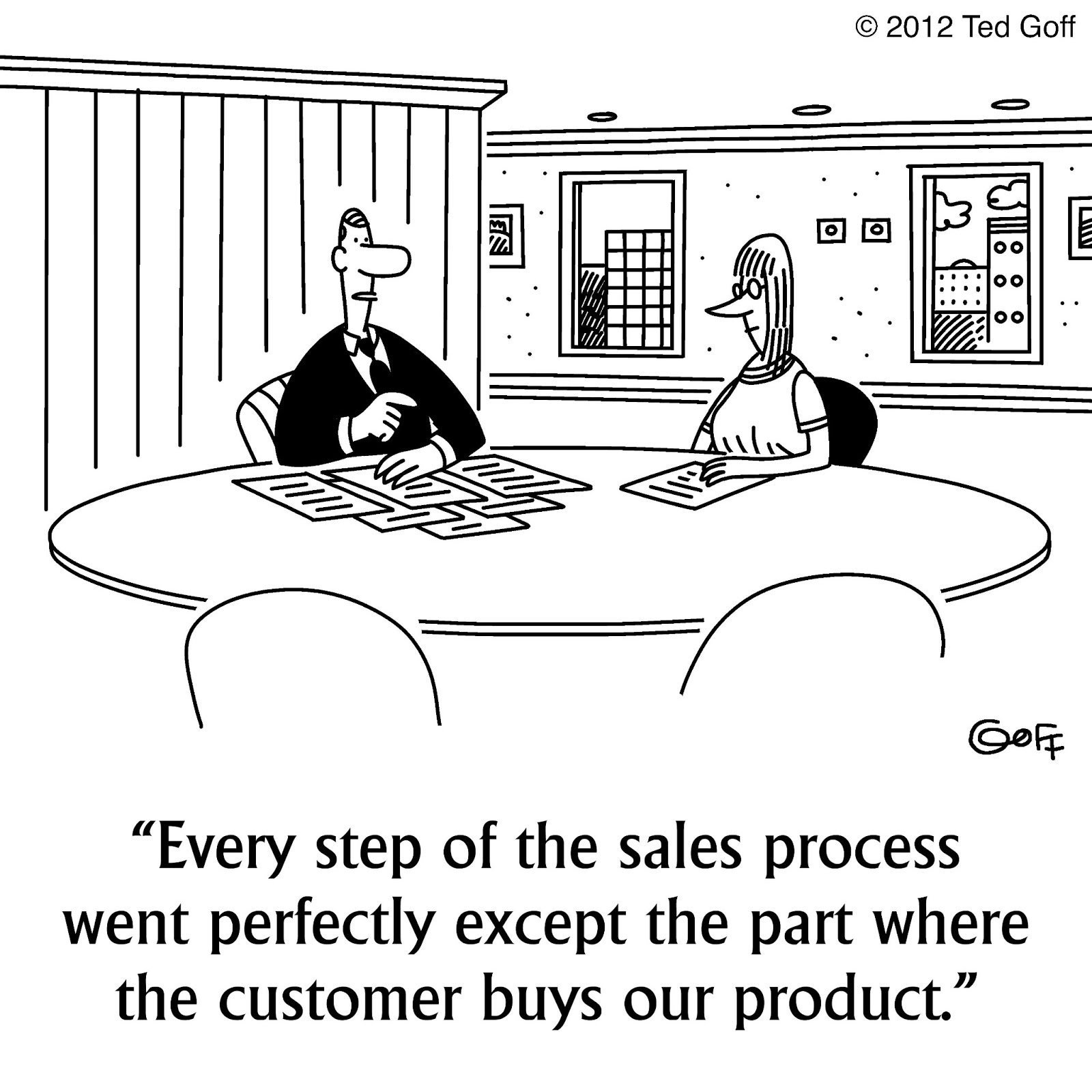 10 Comical Cartoons That Every Salesperson Will Understand