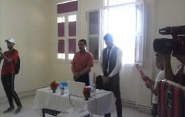 تهنئة للزميل عبد السلام شنيني بمناسبة تخرجه بشهادة الماستر