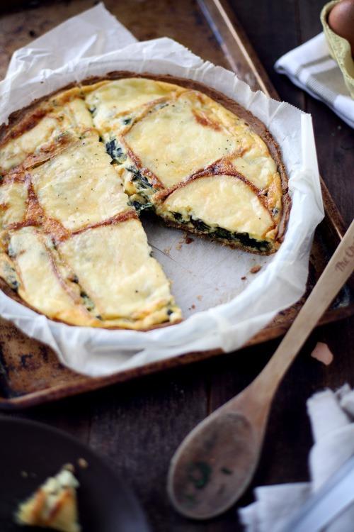 Quiche Aux Pinards Et Au Fromage Raclette ChefNini