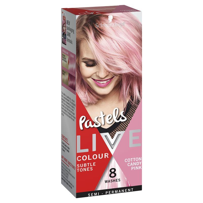 Buy Schwarzkopf Live Colour Pastels Cotton Candy Pink