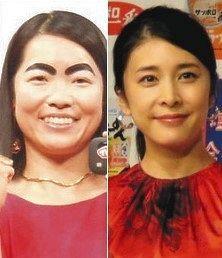 イモトアヤコと竹内結子さん