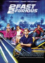 Poster 2 Fast 2 Furious