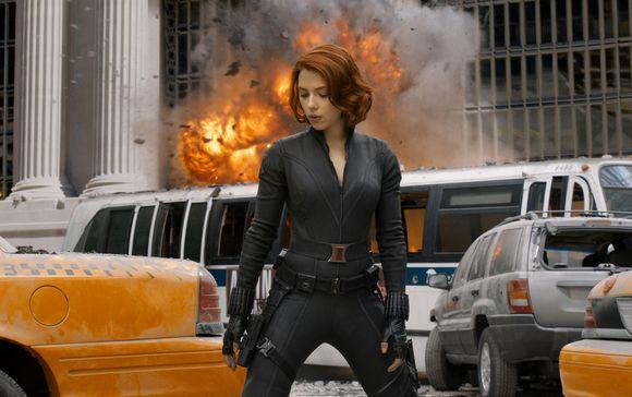 Scarlett Johansson în The Avengers