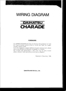 DiagramaManual Daihatsu Charade