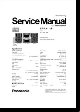 DiagramaManual Panasonic SAAK110