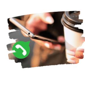 Audios pelo WhatsApp