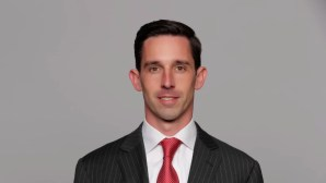 This is a 2017 photo of Kyle Shanahanof the San Francisco 49ers NFL football team. This image reflects the 2017 active roster as of Monday, March 13, 2017 when this image was taken. (AP Photo)