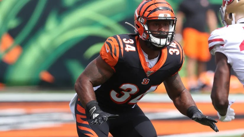 Samaje Perine Re-Signs With The Bengals