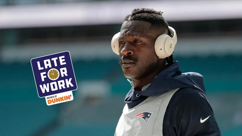 Late for Work 6/24: Ravens Reportedly Had 'Discussions' About Antonio Brown