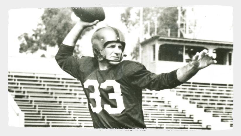 Former Redskins QB Sammy Baugh Named To NFL 100 All-Time Team