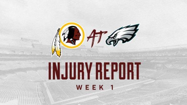 philadelphia eagles injury report # 46