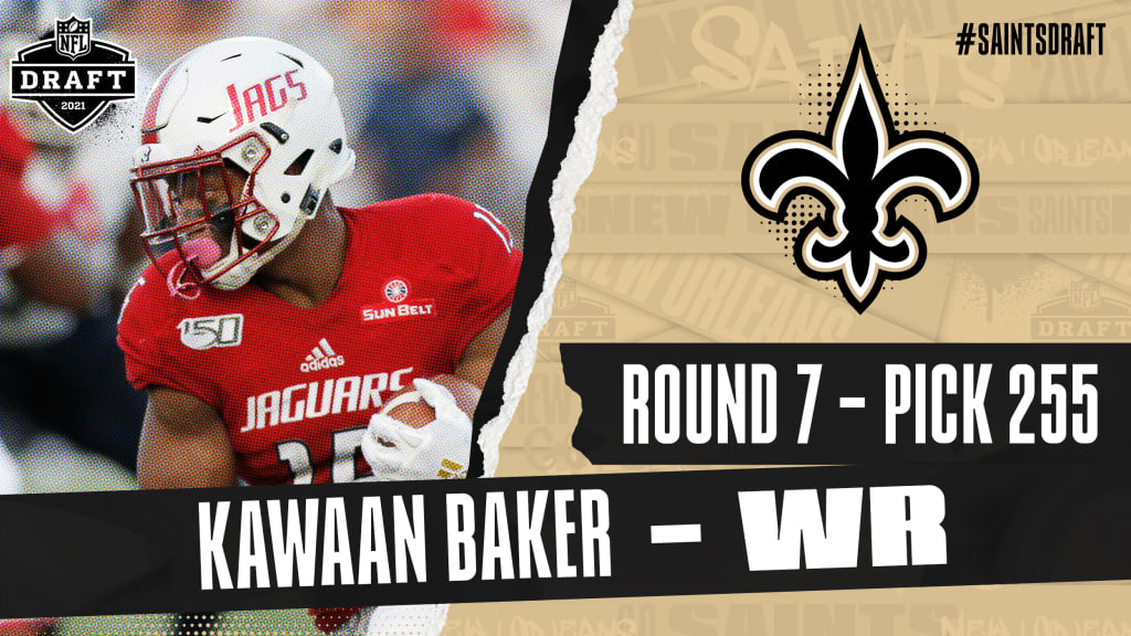 2021 NFL Draft: Kawaan Baker, South Alabama, Round 6, Pick 206