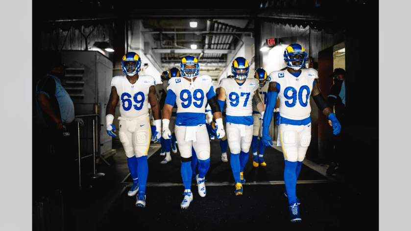Check out the best photos from the Los Angeles Rams Week 5 win on the road against the Washington Football Team!