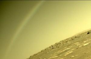 """美国宇航局的""""毅力""""探测器在火星上发布了""""彩虹""""的图片-科学探索-cnBeta.COM"""