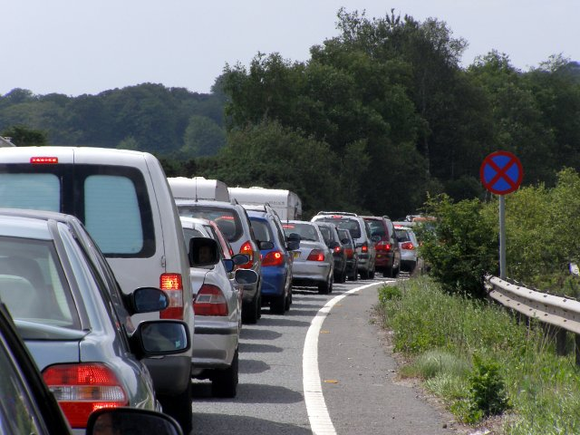 Bank_holiday_weekend_traffic_jam_on_the_A31(T),_New_Forest_-_geograph.org.uk_-_446343.jpg