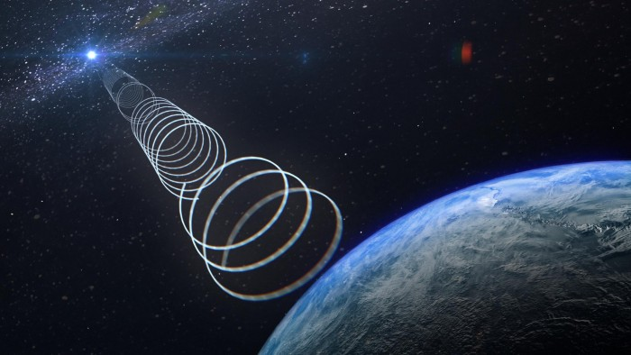 Strange radio signals from the center of the galaxy excited scientists(1)