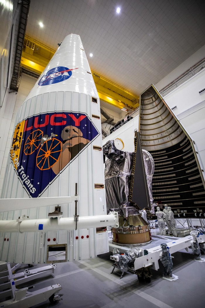 NASA's Lucy mission to Jupiter's Trojan asteroid is ready for launch(1)