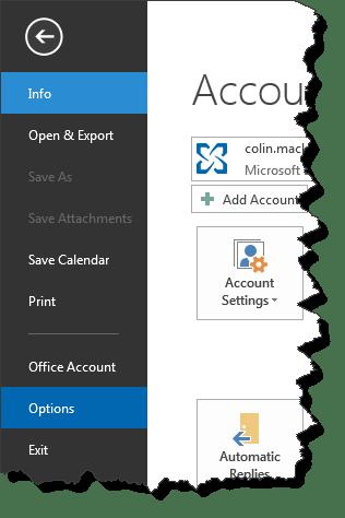 File Menu Details