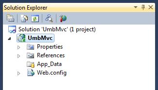 Visual Studio 2010: Solution Explorer