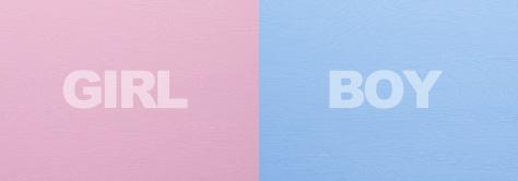 Pink Girls Blue Boys