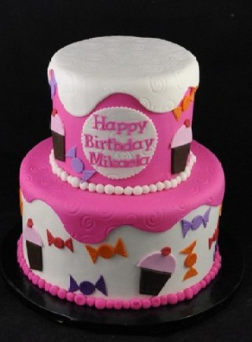 3-Sweet-Celebration-280x380 Color Inspiration in Cake: A Rainbow Array of Birthday Confections Color