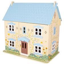 bigjigs-sunflower-wooden-dolls-house Tidlington Wooden Dolls House – The Wooden Doll House Your Kids will Love! Color
