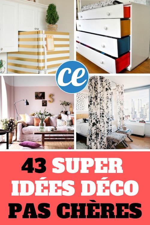 43 super idees simples et pas cheres