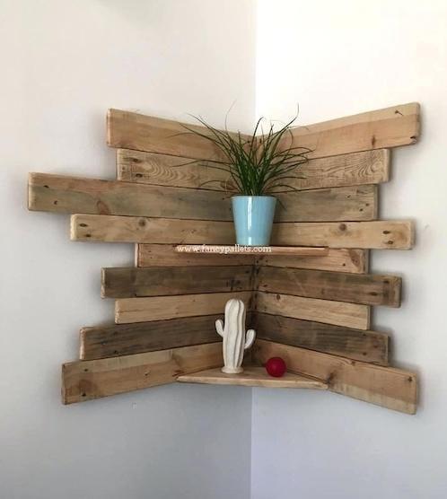 des palettes en bois