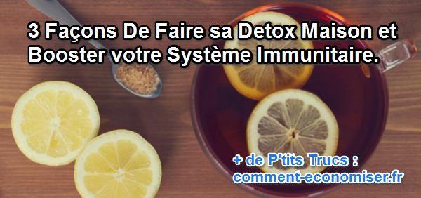 Detox Naturel Fait Maison D Tox Le Livre Bon Sain Et Fait