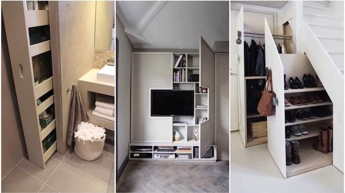 28 Super Idees De Rangement Pour Gagner De La Place A La Maison