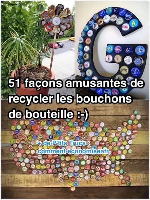 recycler les bouchons de bouteille