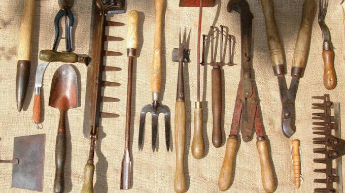 ranger ses outils de jardinage