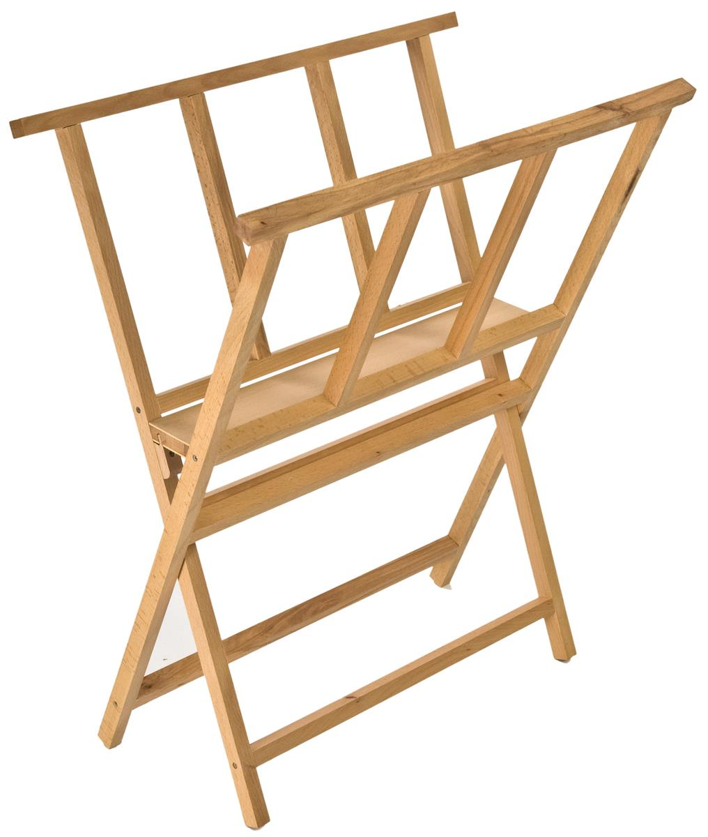 art print rack folds for storage and transport