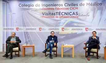 Arranca el Colegio de Ingenieros Civiles de México visitas técnicas virtuales