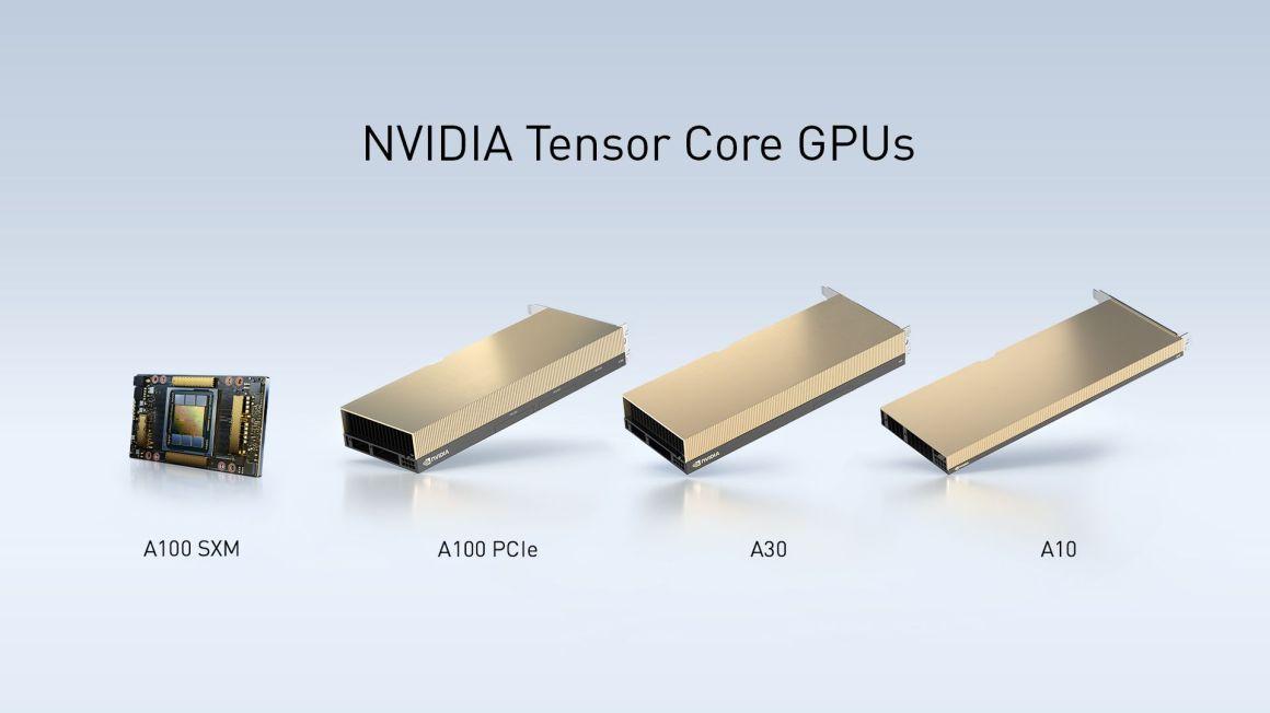 NVIDIA establece récords de inferencia para IA. Presenta las GPUs A30 y A10 para servidores empresariales 1