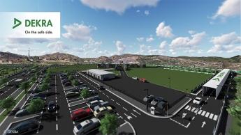 DEKRA apuesta por la eficiencia de los coches conectados del futuro en su nueva área de ensayos en Málaga