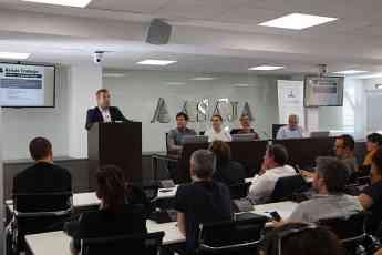 Notable éxito en la presentación de Aproinsecta en Asaja Madrid sobre el sector de la insecticultura