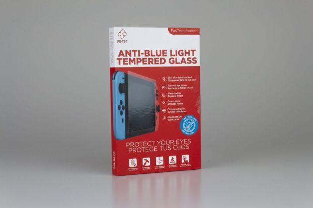 FR-TEC pone a la venta el primer cristal templado para Nintendo Switch con filtro de luz azul HEV