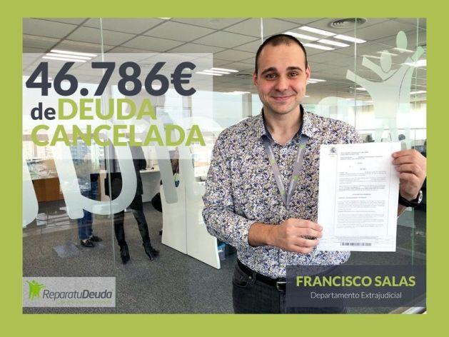 Repara tu Deuda Abogados cancela 46.786 ? de deuda a un vecino de Sevilla con la Ley de Segunda Oportunidad