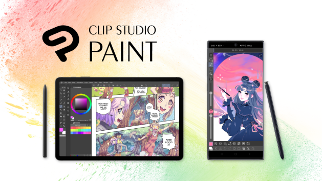Clip Studio Paint disponible para Galaxy
