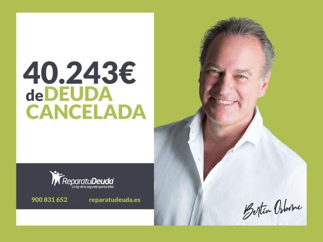 Repara tu Deuda cancela una deuda de 40.243 ? en Granollers (Barcelona) con la Ley de Segunda Oportunidad