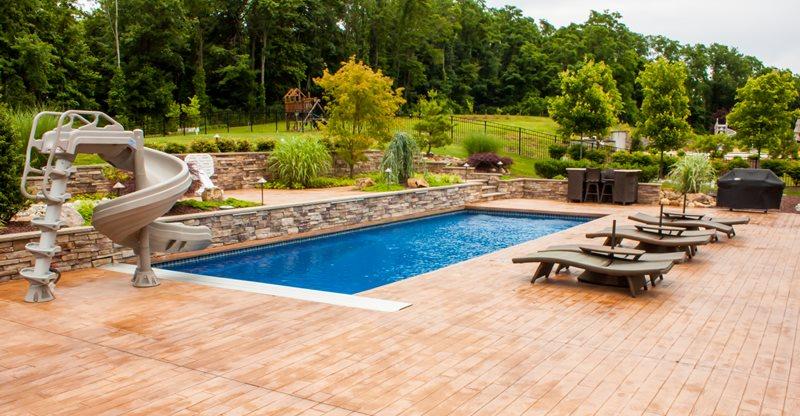 pool decks swimming pool deck design