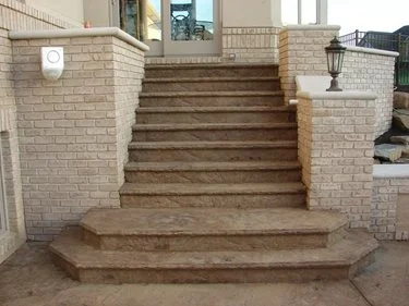 Concrete Steps Outdoor Stair Design Height The Concrete Network | Outdoor Basement Stairwell Covers | Sloped | Step | Outside | Window Well | Basement Egress Door